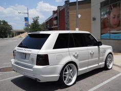 range rover custom | Thread: White Custom Range Rover Sport with Strut Overfinch and Arden ...