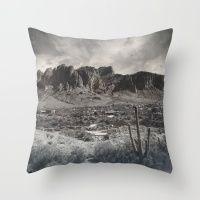 #Society6 #art #decor #Pillows Superstition Mountains...