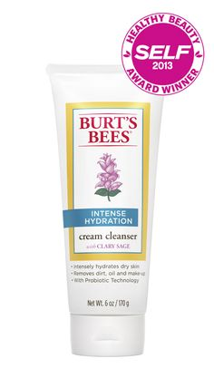 Burt's Bees Intense Hydration Facial Cleanser  won the 2013 SELF Healthy Beauty Award for Best Hydrating Cleanser. - $9.99