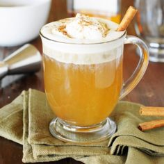 Hot Buttered Rum - Keep warm during the cold winter months with this rum-spiked comfort in a mug!