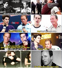 Linden Ashby and Dylan O'Brien