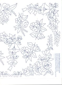 embroidery patterns beginner The Hungarian Braided Stitch (also called the Hungarian Braid Stitch) is similar to a reverse chain stitch or a heavy chain stitch. Chain Stitch Embroidery, Hand Embroidery Stitches, Learn Embroidery, Crewel Embroidery, Embroidery Techniques, Machine Embroidery, Hungarian Embroidery, Brazilian Embroidery, Floral Embroidery Patterns