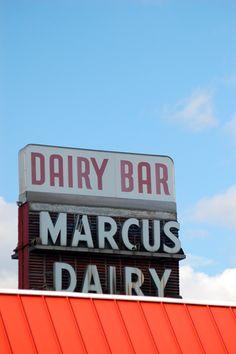 Marcus Dairy, Danbury, CT  (photo by Joyce Peters)