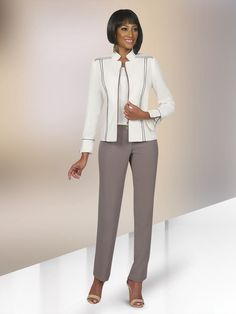 9e7058e8ab7 Check out the deal on Ben Marc Executive 11367 Womens 3pc Pant Suit at French  Novelty