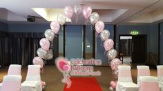 Beautiful wedding balloon arches from www.balloonsleeds.com Balloon Arch, The Balloon, Balloon Pictures, Celebration Balloons, Wedding Balloons, Wakefield, Leeds, Arches, Chandelier