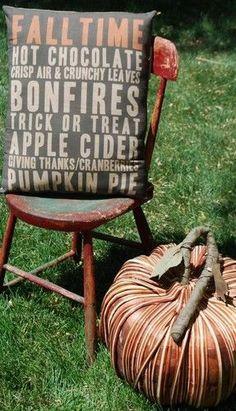 fall cabin porch decorating | super cute on ebay | Fall porch decorating ideas