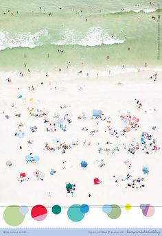 love print studio blog: Colour crush... featuring the work of Antoine Rose in todays post, 'Up in the Air : The Hamptons'