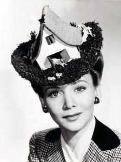 Farmhouse hat, 1943.
