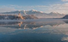 I Photographed Lake Bled On A Fairytale Winter Morning | Bored Panda