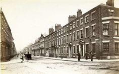 Rodney Street, 1880s