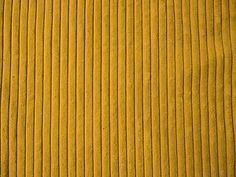 YELLOW/GOLD 5 WALE WIDE CORDUROY FABRIC MATERIAL | eBay