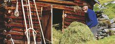 Kamperen bij de boer - Het landelijke leven van Oostenrijk van heel dichtbij meemaken? Op de boerencampings in Oostenrijk. Het zijn er niet veel, maar bij het selecte aanbod ben je meer dan welkom. Sla er je tent op en zet er je caravan neer en beleef het boeren leven.  Boer tijdens hooioogst © Österreich Werbung / J. Mallaun
