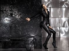 Aphero collection winter 2012  #leather #fashion #exclusive #design #jacket #pants