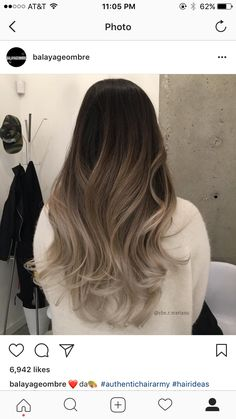Get it or nah Brown Hair Balayage, Hair Color Balayage, Hair Highlights, Bayalage, Cabelo Ombre Hair, Hair Tuck, Ombré Hair, Ombre Hair Color, Gorgeous Hair