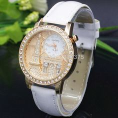 1e5ac8e2996 ... mens watches Suppliers  Women watches Quartz Wristwatch Gogoey Brand  Luxury Eiffel Tower Leather Watch Lady Casual fashion gold Watch relogios  feminino