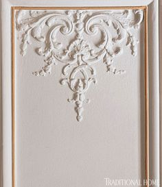 wall molding french apartment - Google Search