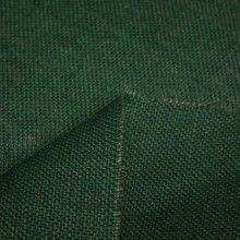 Tissu Toile de jute verte anglais unie