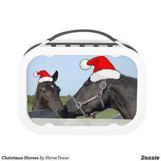 Christmas Horses Lunch Box