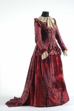 First day dress, 1861