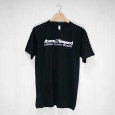 Above & Beyond Acoustic II Merchandise | Acoustic Black Tour T-Shirt  #t-shirt #tour #2016 #aboveandbeyond #ABAcoustic #AcousticII #merchandise #musiclabel #recordlabel #Anjunabeats #Anjuna