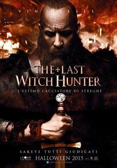 Vin Diesel e il resto del cast ritratti sui nuovi poster di The Last Witch Hunter