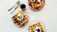 Easy Breakfast For Dinner Recipes - Food.com Best Belgian Waffle Recipe, Belgian Waffle Maker, Belgian Waffles, Belgian Recipes, How To Make Breakfast, Breakfast For Dinner, Breakfast Club, Breakfast Dishes, Breakfast Recipes