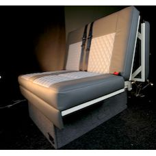 Electric Rock N Roll Leather Trimmed Bed