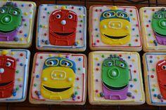 jackandy cookies: Chuggington Trains