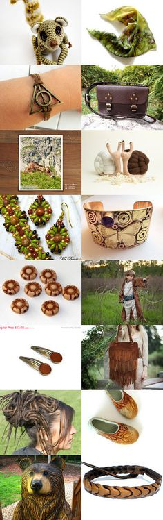 Woodland by Anna Ilinykh on Etsy--Pinned with TreasuryPin.com