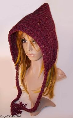 I have been missing my Grandma a lot lately (she moved to Georgia which is really far away from Michigan) She used to Knit/Crochet hood/hats...