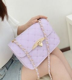 BAGuette Quilted Chain Strap Shoulder Bag  aab75437082f0