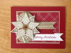 Stampin+Up+handmade+Christmas+card++golden+by+treehouse05+on+Etsy