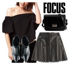 """""""400.Focus On Me"""" by theofficialfashiondreamer on Polyvore featuring Topshop, RED Valentino, Kim Kwang, women's clothing, women's fashion, women, female, woman, misses and juniors"""