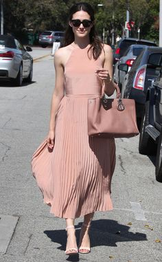 Boho Chic from Emmy Rossum's Street Style | E! Online