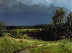 Иван Шишкин Перед грозой 1884