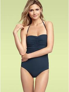 one piece bathing suit... I had one from Walmart that barely lasted a year...I want one like this that will last longer than that!