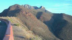 Mountains in El Paso, TX