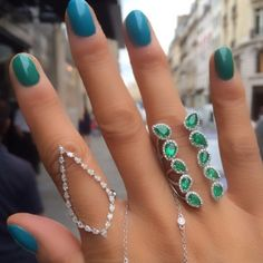Instagram 上的 Djula Jewelry:「 Today we Blue And we Green! #Djula #DjulaJewelry #NewCollection 」