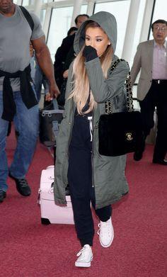 Ariana Grande // Haneda Airport in Tokyo
