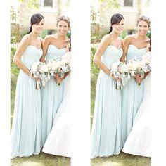 Chiffon Bridesmaid Dresses Floor Length Pst392 on Luulla