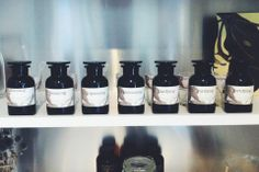 Check out the tonics at our Custom Essential Oil Blending Bar! #Toma #EssentialOils