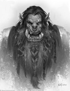 The Art of Warcraft Film - Orcs, Wei Wang on ArtStation at https://www.artstation.com/artwork/LlNJl