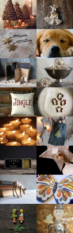 Peaceful Christmas............. by Eveline on Etsy--Pinned with TreasuryPin.com