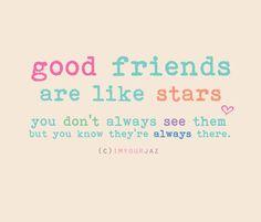 Good Friends!