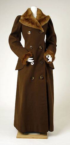 Coat Date: ca. 1891
