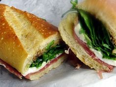 Great sandwiches across the street from YogaWorks Larchmont.