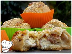 Savory Muffins, Happy Foods, Greek Recipes, Finger Foods, Food Styling, Kids Meals, Recipies, Food And Drink, Appetizers