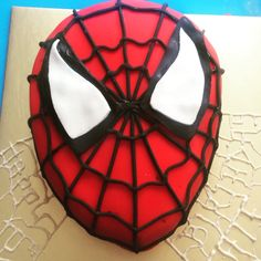#spidermancake
