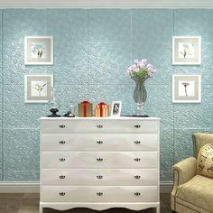 "House of Hampton Swiney Foam Rose Flower 28' L x 14"" W 3D Embossed Paintable Peel and Stick Wallpaper Roll | Wayfair"