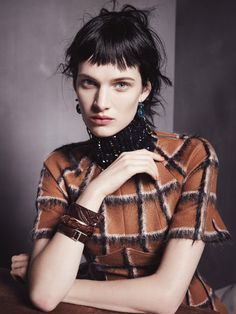 Ashleigh Good in Vogue Australia August 2015 by Nicole Bentley